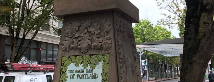 The Green Man Of Portland is one of Oregon Adventure (smell the roses).