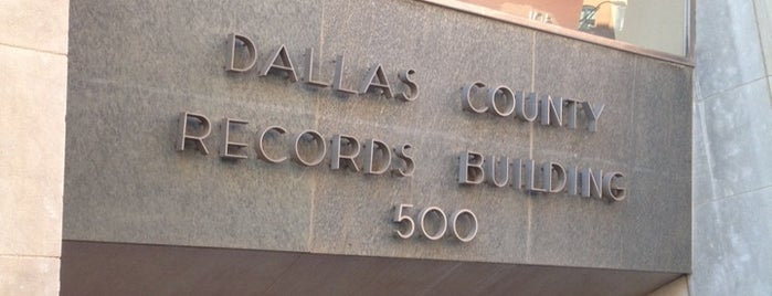 Dallas County Records Building is one of Fun Things To Do.