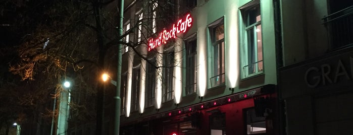 Hard Rock Cafe is one of 2017 Yaz Avrupa Turu.