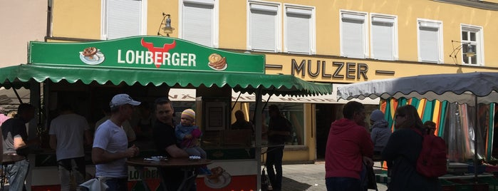Würschtlstand Lohberger is one of Ingo: сохраненные места.