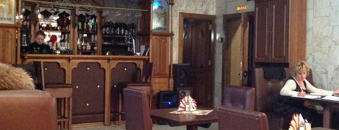 кафе-бар Самовар is one of สถานที่ที่บันทึกไว้ของ Ольга.