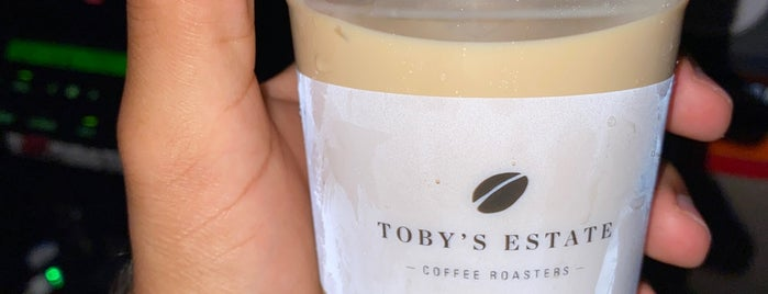 Tobys Estate is one of Kuwait Cafes.