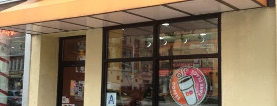 Dunkin' is one of NYC.