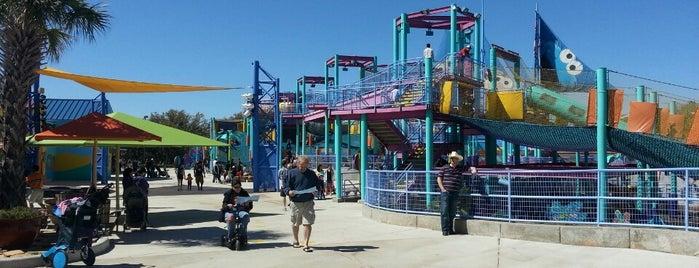 SeaWorld Playground is one of SeaWorld San Antonio.