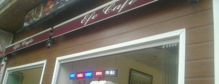 Efe Cafe is one of Kafeterya ve Nargiler Evleri.