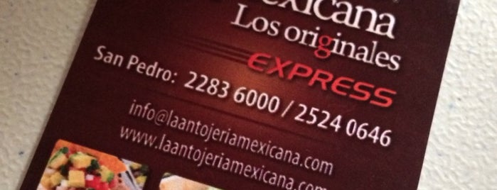 La Antojería Mexicana is one of Lugares favoritos de Francis.