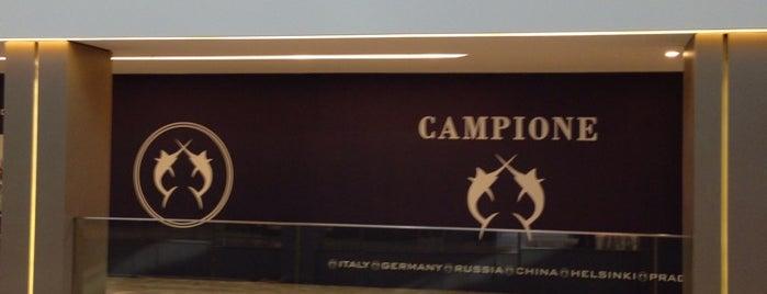 CAMPIONE is one of Berna💫'ın Beğendiği Mekanlar.