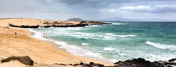 Parque Natural de Corralejo is one of fuerte.