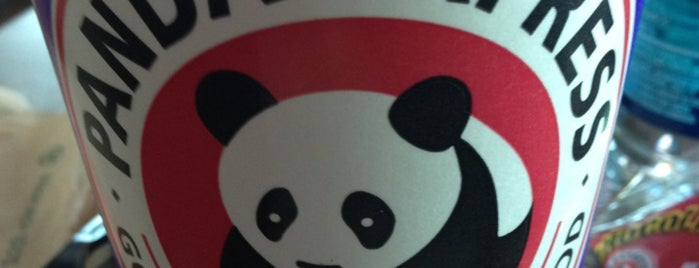 Panda Express is one of Stephanie 님이 좋아한 장소.