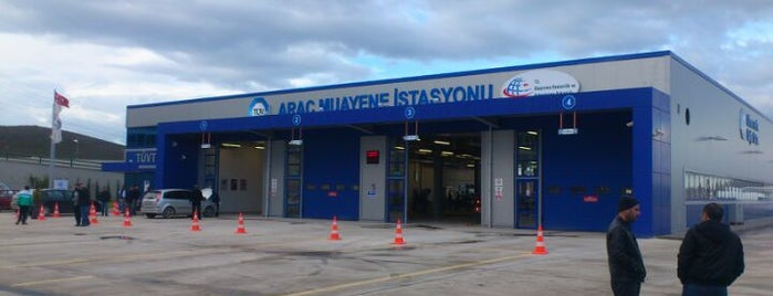 TÜVTÜRK Araç Muayene İstasyonu is one of Locais curtidos por white.