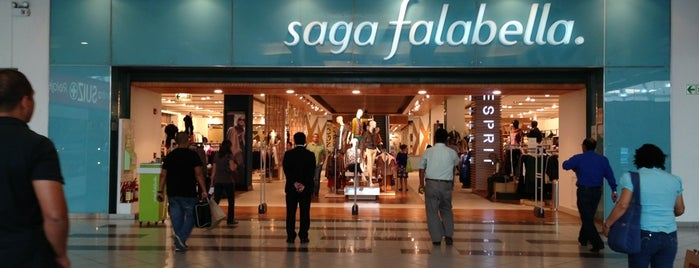 Saga Falabella is one of Locais curtidos por Sebastian.