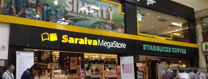 Saraiva MegaStore is one of Favoritos.