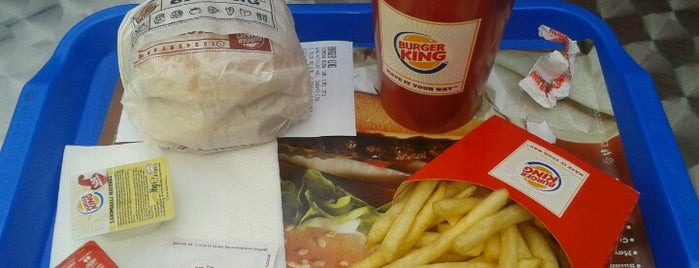 Burger King is one of Must-visit Fast Food Restoranları in Ankara.