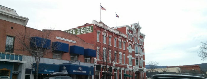 Strater Hotel is one of Jeff 님이 저장한 장소.