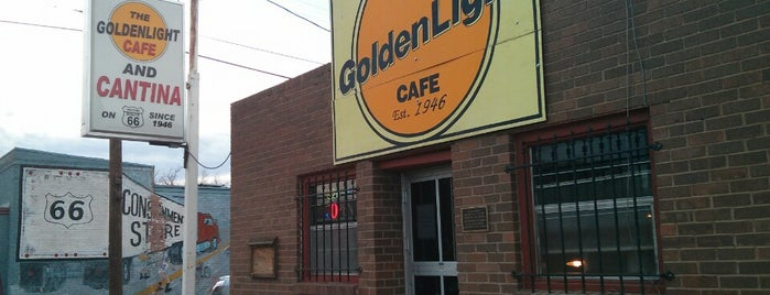 Golden Light Cantina is one of Misty's Saved Places.