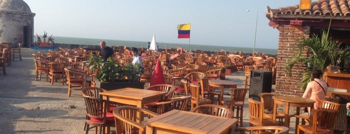 Café del Mar is one of Cartagena!.