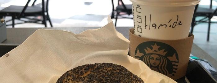 Starbucks is one of Pelin : понравившиеся места.