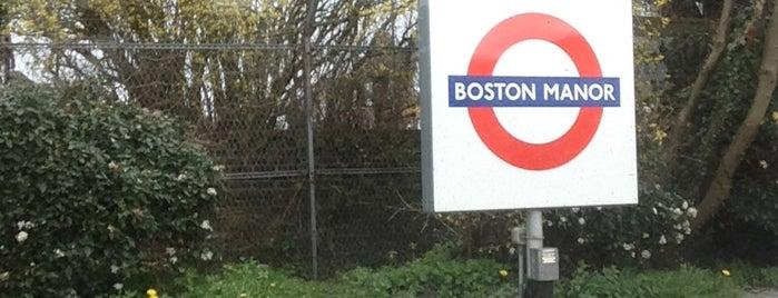 Boston Manor London Underground Station is one of Underground Stations in London.