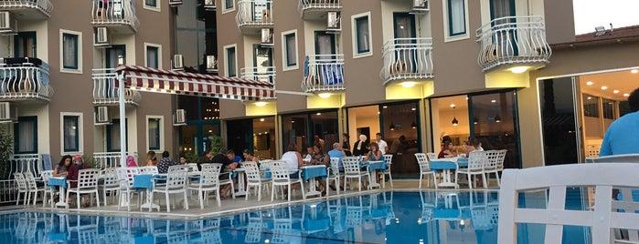 Remer Hotel is one of สถานที่ที่ Senem ถูกใจ.