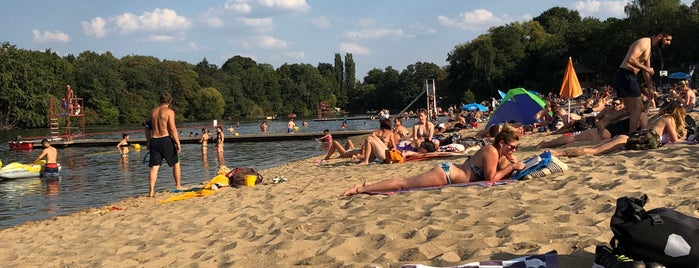 Freibad Plötzensee is one of Berlino.