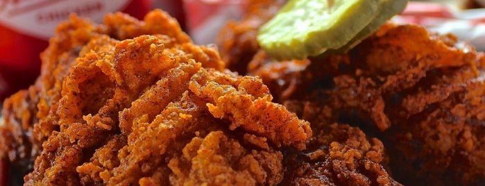 Hattie B's Hot Chicken is one of Tennessee To-Do List.