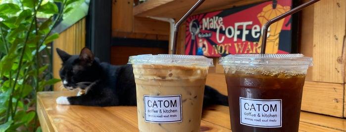 Catom Coffee & Kitchen is one of ลพบุรี สระบุรี.
