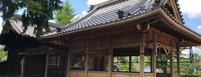 犬山神社 is one of 愛知に旅行したらココに行く!.