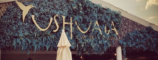Ushuaïa Beach Club is one of Tempat yang Disukai Aline.