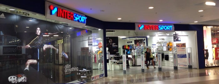 Intersport in ТК Город is one of Lugares favoritos de Alexander.
