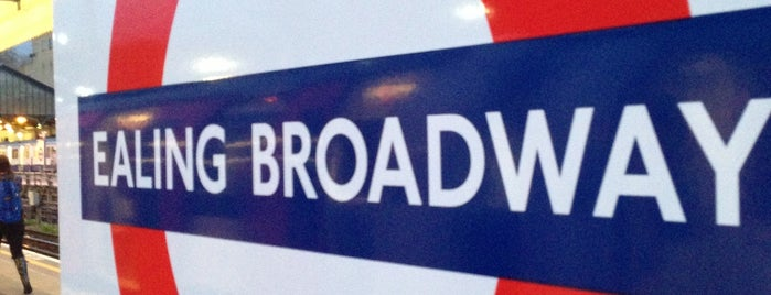 Ealing Broadway London Underground Station is one of Went Before 4.0.
