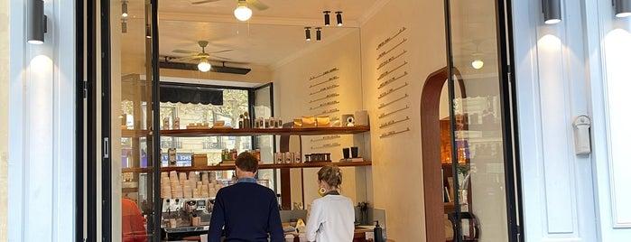 Noir Barista's Coffee is one of Paris 2021.