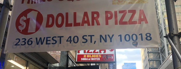 The Best $1 Dollar Pizza Slice is one of NYC food.