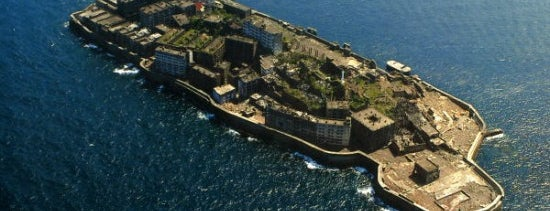 Hashima (Gunkanjima) Island is one of Far Far Away.