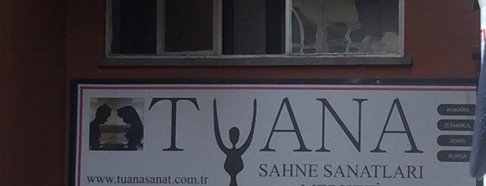 Tuana Sanat Kulübü is one of Orte, die Yunus gefallen.