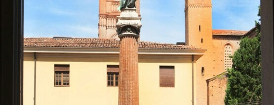 Piazza Malpighi is one of Bologna city.