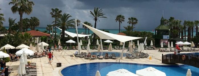 Bellis Deluxe Hotel is one of Locais curtidos por Pinar.