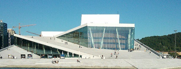 Ópera de Oslo is one of Architecture.