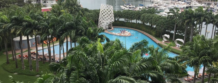W Hotel Sentosa is one of Project #2 singa.