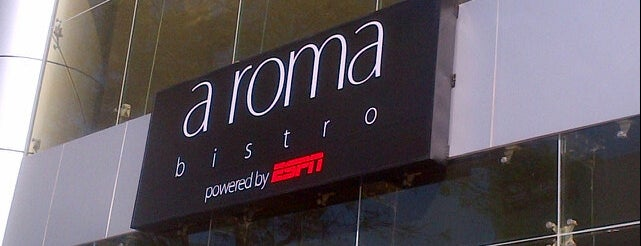 Aroma Bistro is one of Aca.