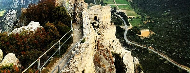 Saint Hilarion Castle is one of Cypress Hill.