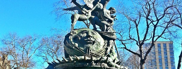 Peace Fountain is one of NEW YORK CITY : Manhattan in 10 days! #NYC enjoy.