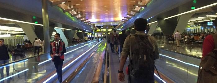 Smoking Room Gate C2, Hamad International Airport (DOH) is one of Ladybug'un Beğendiği Mekanlar.