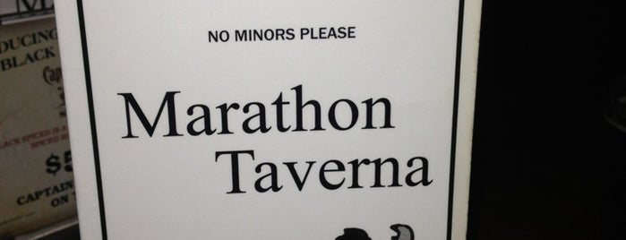 Marathon Taverna is one of Portland Timbers Official Pub Partners.