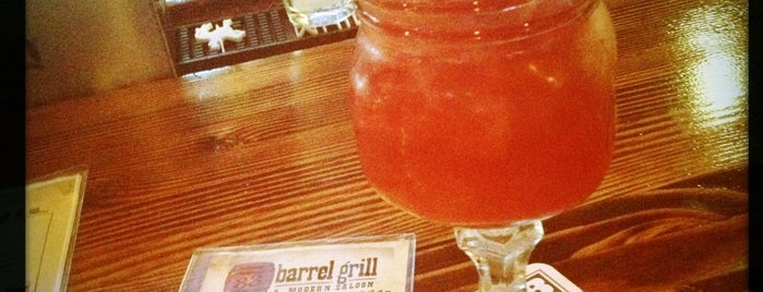 Barrel Grill & Modern Saloon is one of 10 Best Places to Eat and Drink on Cinco de Mayo.