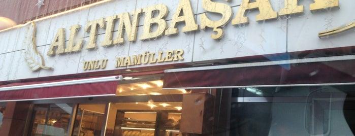 Altınbaşak Unlu Mamuller is one of สถานที่ที่ Emre ถูกใจ.