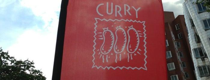 Curry is one of Top 15 Orte der Düsseldorfer.