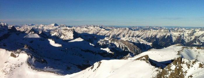 Schilthorn Piz Gloria is one of Beautiful Views.