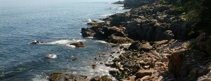 Acadia National Park is one of New England.