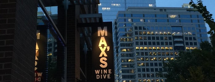 MAX's Wine Dive Atlanta is one of Posti salvati di Emily.