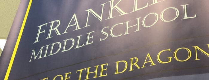 Franklin Middle School is one of JODY & MY PLACES IN MD REISTERSTOWN, OWINGS MILLS,.
